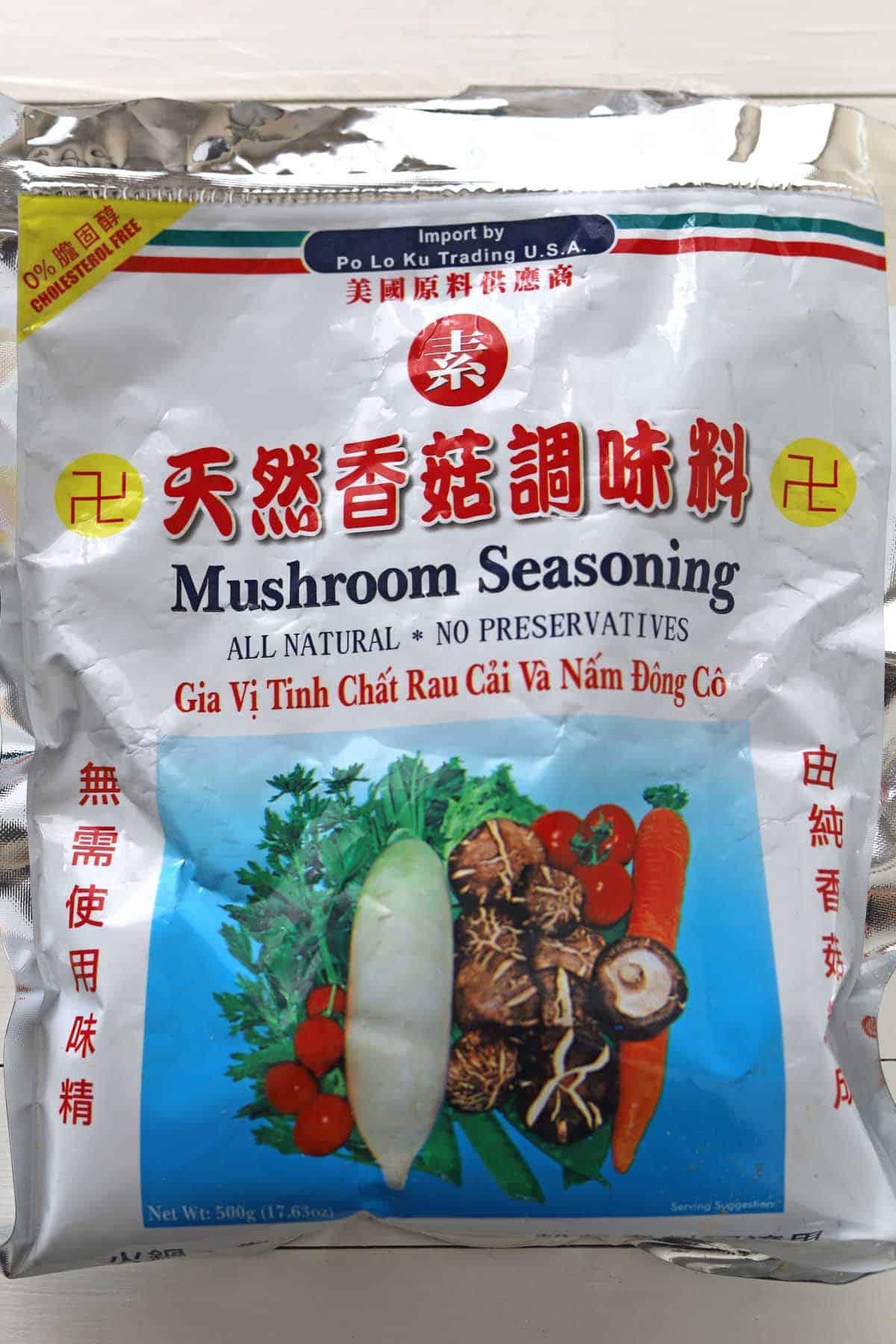 Chao Ga mushroom seasoning bag