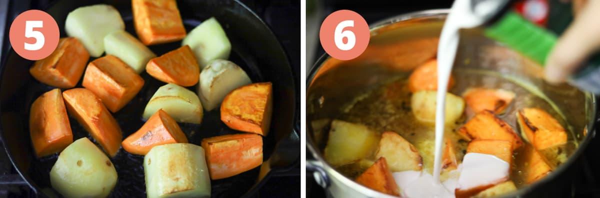 How to make potatoes for ca ri ga.